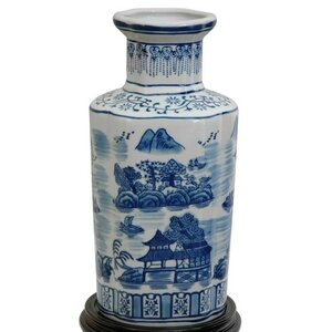 Christiane Blue and White Vase
