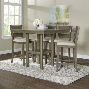 Brantford 5 Piece Counter Height Dining Set