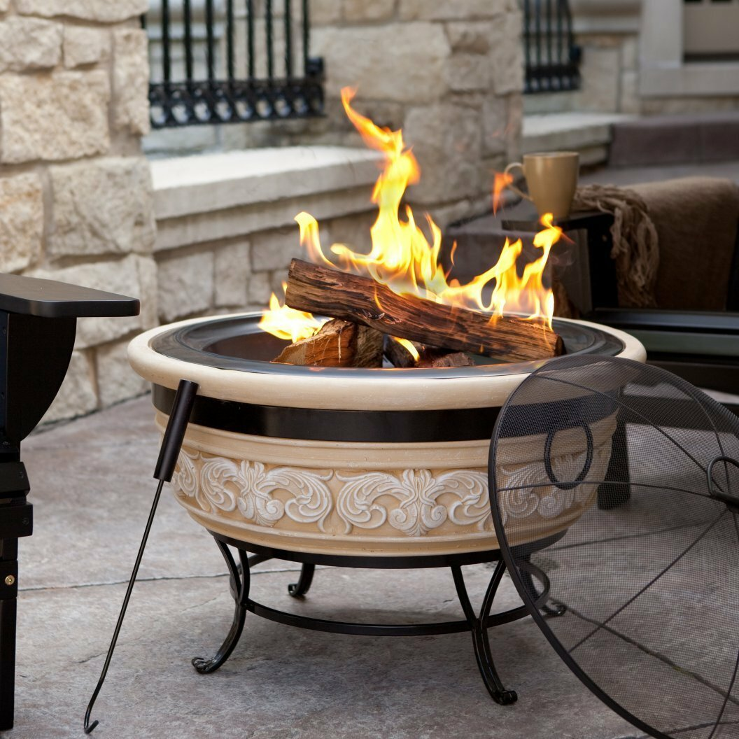 Stone Fire Pits Youu0027ll Love In 2019   Wayfair