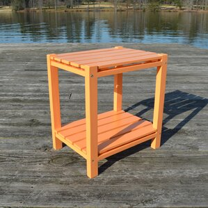 Wedelia Adirondack Side Table by Bay Isle Home