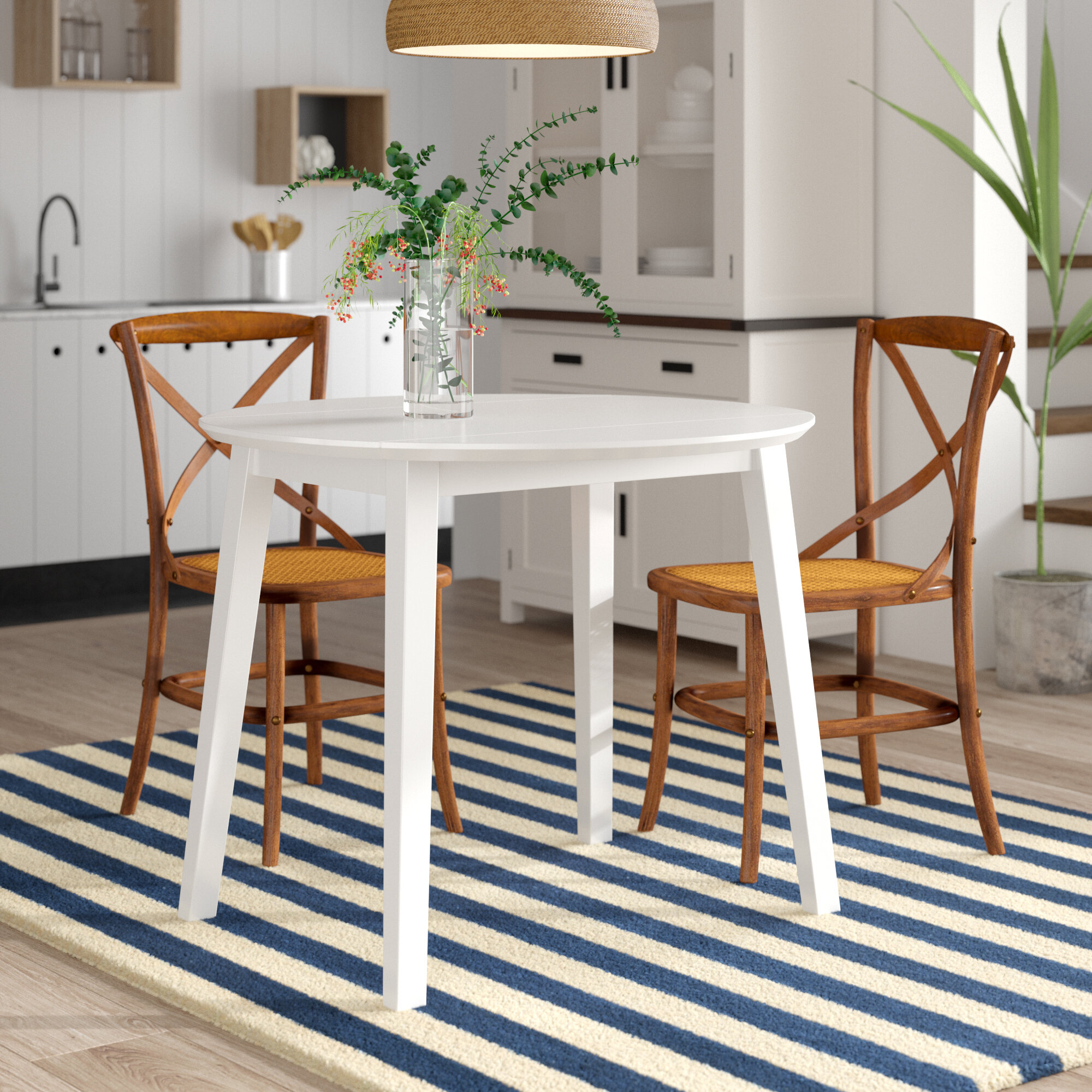 cfb05488a7295 Breakwater Bay Inglewood Extendable Dining Table & Reviews | Wayfair.co.uk