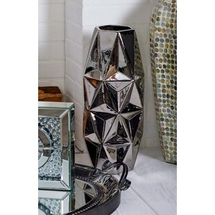 24 Inch Floor Vase | Wayfair Floor Vase With Lighted Nches on