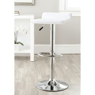 Reatha Adjustable Height Swivel Bar Stool