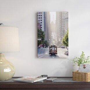 u0027Cable Car San Francisco California USAu0027 Photographic Print on Wrapped Canvas & California Wall Art Youu0027ll Love | Wayfair