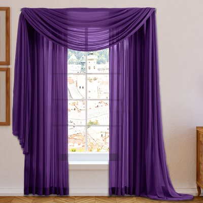 Purple Curtains Amp Drapes You Ll Love Wayfair