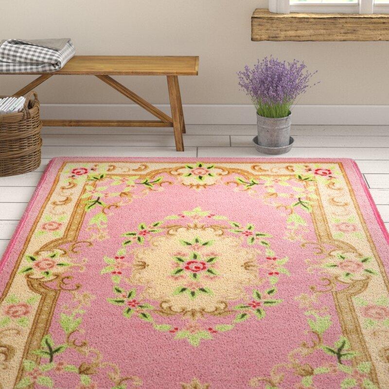 theko teppich classic in rosa. Black Bedroom Furniture Sets. Home Design Ideas