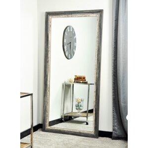 Weathered Harbor Floor Mirror