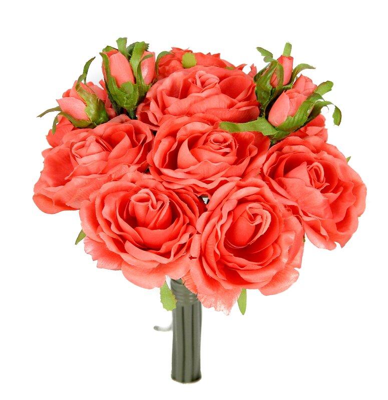 Rose Floral Arrangement. Willa Arlo Interiors Rose Floral Arrangement   Reviews   Wayfair