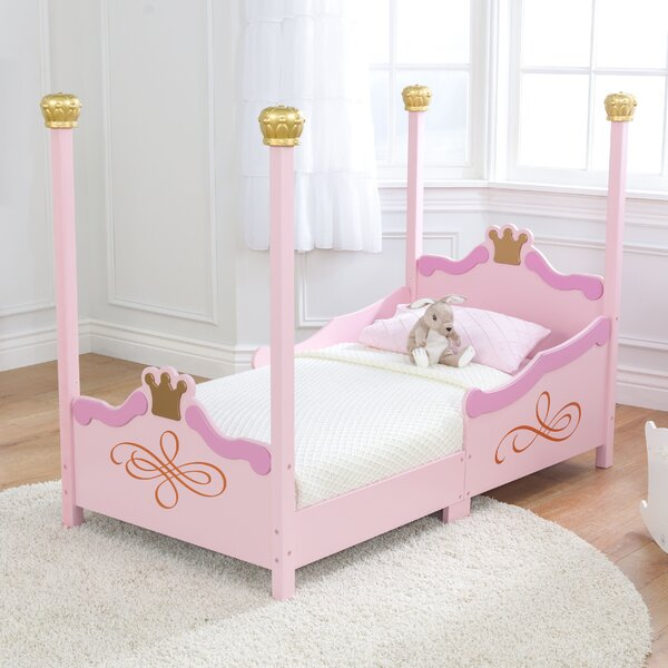 Kidkraft Princess Toddler Four Poster Bed Amp Reviews Wayfair