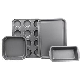 4 Piece Non-Stick Bakeware Set by Pargat Housewares