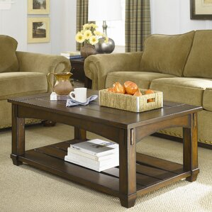 Fort Bragg Coffee Table with Lift-Top by Loon Peak