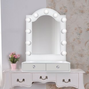 Bathroom And Vanity Mirrors With Lights Youll Love Wayfair