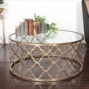 Uttermost Quatrefoil Coffee Table Image
