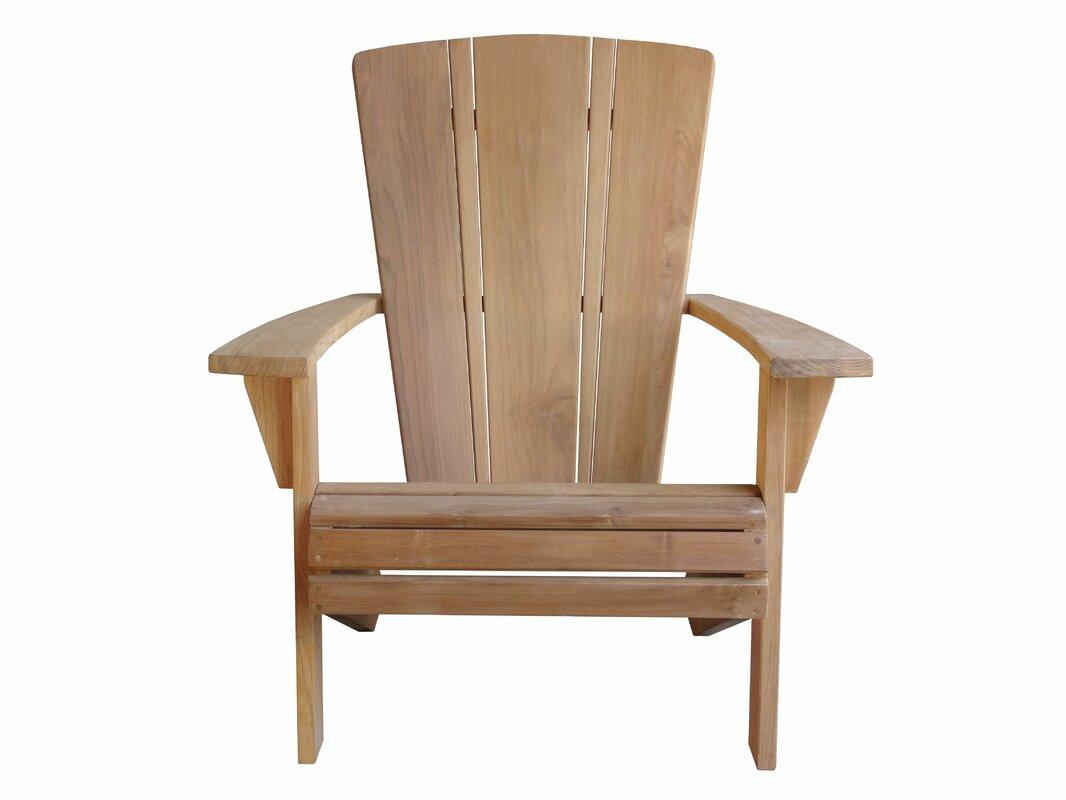 Wonderful Santa Fe Solid Wood Adirondack Chair