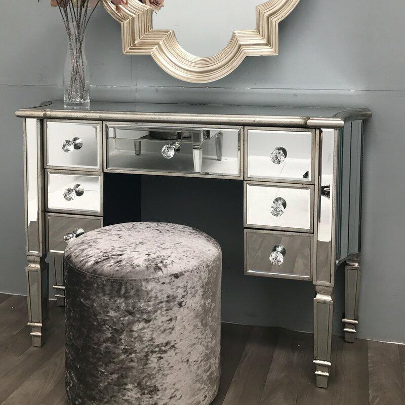 Rosdorf park morley vintage mirrored dressing table