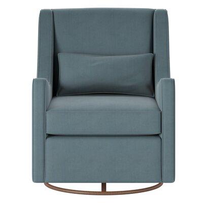 Allmodern Custom Upholstery Swivel Glider