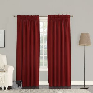 pinch pleated drapes for traverse rods | wayfair
