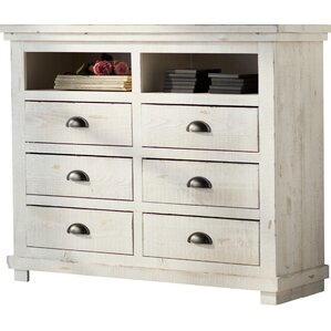 Castagnier 6 Drawer Media Chest by Lark Manor