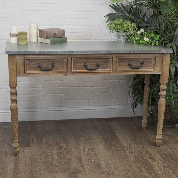 American Mercantile Logan Wood Console Table   Wayfair
