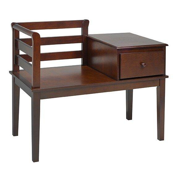 Charmant Red Barrel Studio Karas Solid Wood Storage Bench | Wayfair