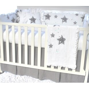 Stars Love You To The Moon Crib Skirt