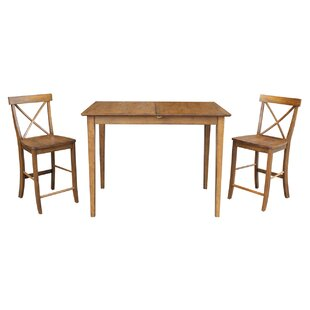 Lalikova 3 Piece Pub Table Set