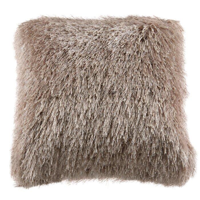 Nicole Miller Glam Shag Decorative Throw Pillow Wayfairca Magnificent Nicole Miller Decorative Pillows