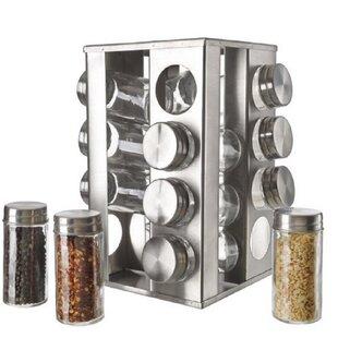 Find Carouselrevolving Spice Jars Spice Racks For Your Kitchen