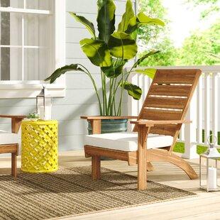 Attirant Extra Wide Outdoor Patio Chair | Wayfair