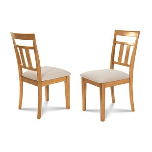 Dahle Soft Padded Dining Side Chair Set Of 2
