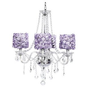 Purple shade chandeliers youll love wayfair save to idea board mozeypictures Images