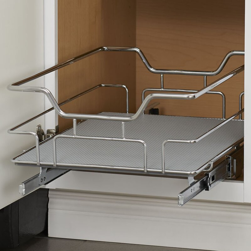 Non Slip Under Sink Pull Out Drawer