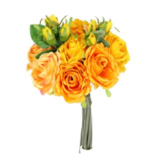 Yellow artificial flowers youll love wayfair yellow artificial flowers mightylinksfo