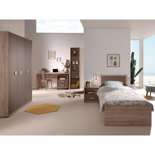 Emiel 6 Piece Bedroom Set by Vipack