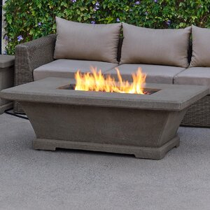Real Flame 11704LP Monaco Rectangle Low Propane Fire Table
