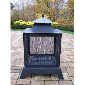 Pagoda Outdoor Fireplaces & Fire Pits You'll Love | Wayfair