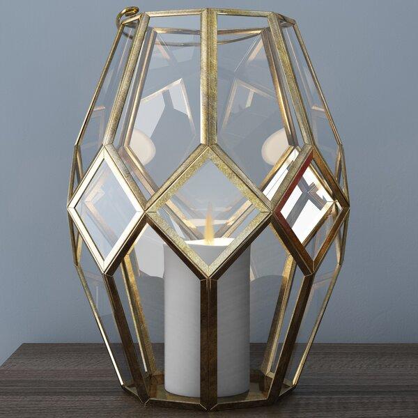 Wrought studio laterne burditt aus glas bewertungen Laterne aus glas