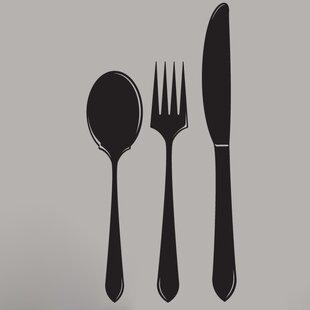 Wall Spoon And Fork | Wayfair