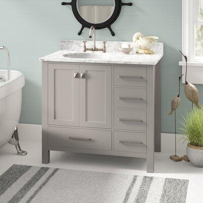 Bathroom vanities you 39 ll love wayfair for Scratch and dent bathroom vanities near me