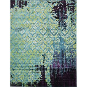 Yareli Blue/Violet Area Rug