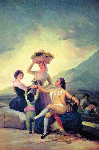 Buyenlarge The Vintage By Francisco Goya Painting Print Wayfair - Francisco goya paintings