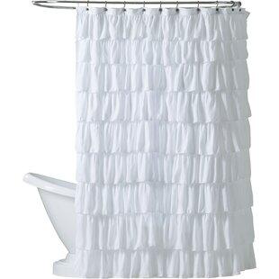Orona Ruffle Shower Curtain
