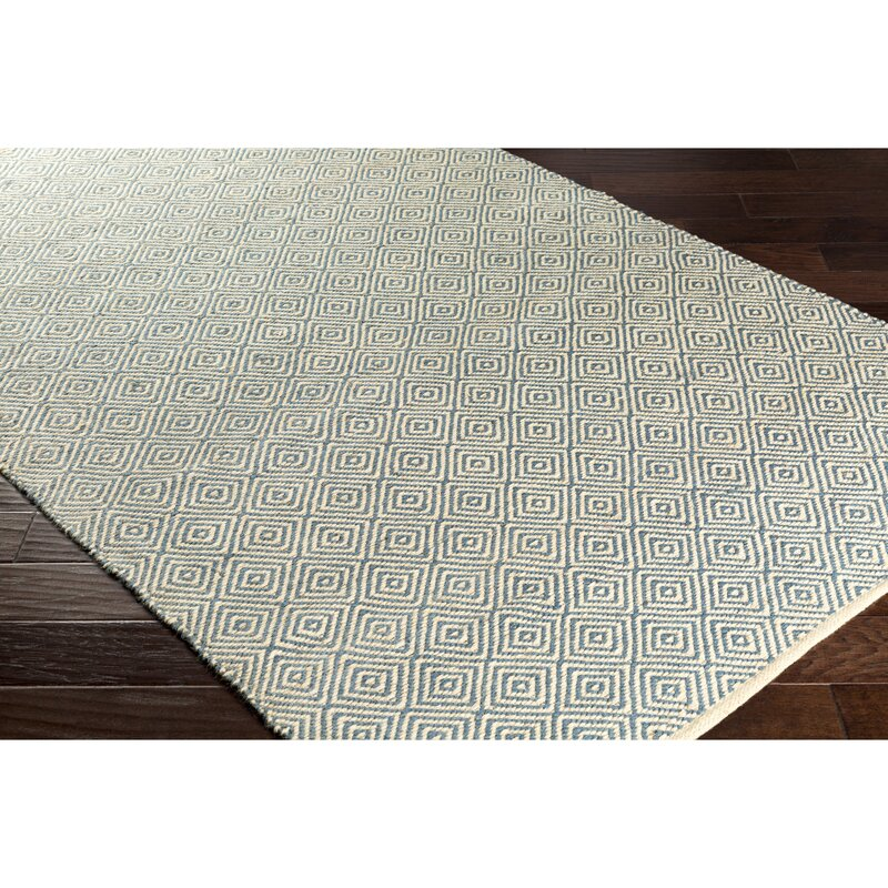 Waverly Hand Woven Green Black Area Rug