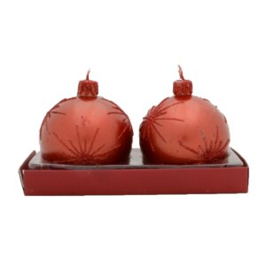 Firework Ball Novelty Candle (Set of 2)