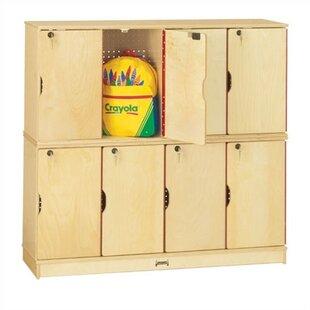 2 Tier 4 Wide Storage Locker