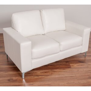 Greysen Contemporary Loveseat by Wade Logan