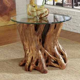 Superbe Winooski Root Ball End Table