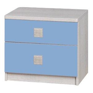 Nachttisch Liza mit 2 Schubladen von dCor design