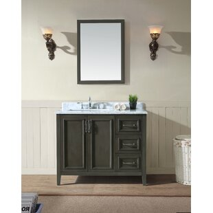 "Quickview. Greyleigh. Schulenburg 42"" Single Bathroom Vanity Set"