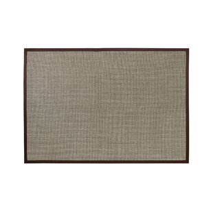 Sisal Brown Rug by Symple Stuff